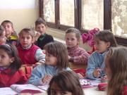 Kosovar elementary students
