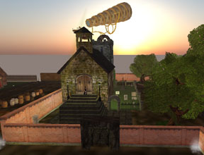 Red in Second Life