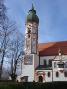 The church of Kloster Andechs