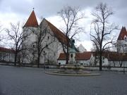 The castle in Ingolstadt