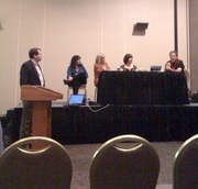 Social Networking Panel at CUE
