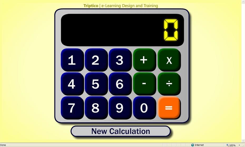 Triptico Calculator