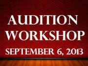 Arts & Learning Conservatory Presents Audition Workshop At Santa Ana