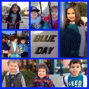Blue Day Event at First School