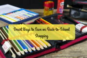 Save on Back-to-School Shopping