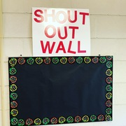 Shout out Wall