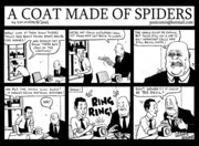 A coat made of spiders