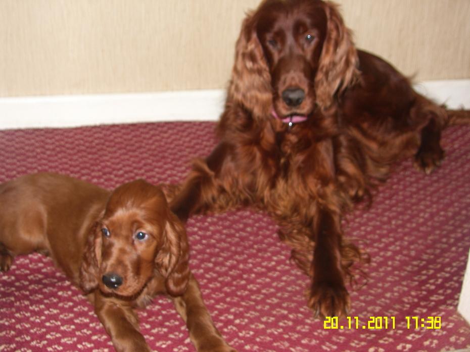 Tia and mum