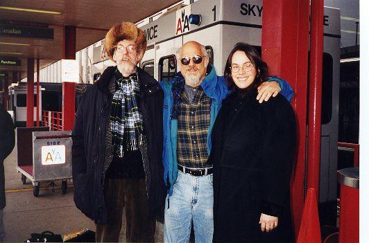 Ted, Johnna, Steve