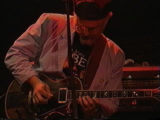 Steve playing Les Paul
