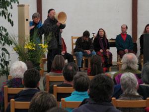 Auftritt in der Kirche in Bern