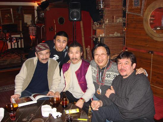 Huun Huur Tu in Annecy, France , december 2006
