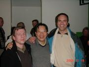 Tran Quang Hai, Sven Gravunder, Wolfgang Saus in Aachen 2003