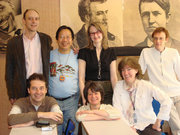 Tran Quang Hai with teachers & researchers