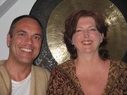 Kiva and Wolfgang Saus meet in Aachen June 2008
