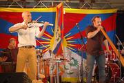 Percussion, Didgeridoo and E-Violin