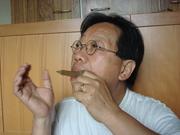 Tran Quang Hai plays the new Vietnamese 3 tongue Jew's harp