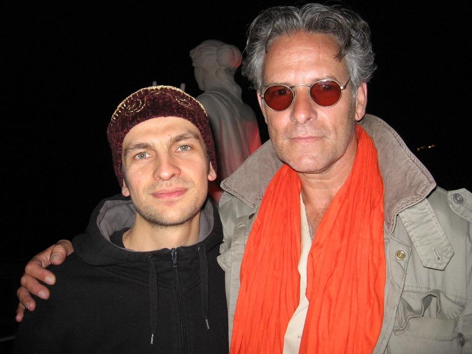 With Steve Shehan