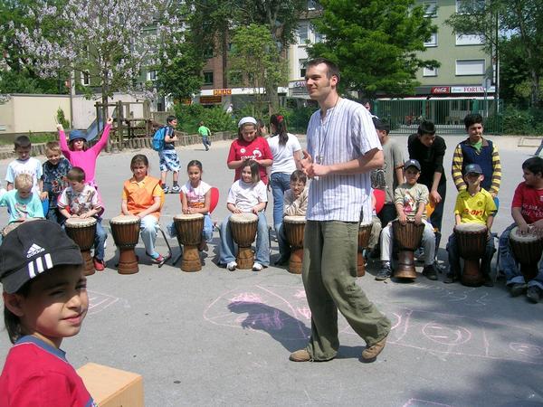 workshop in primary school