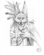 vlčí šaman,wolf inyanga