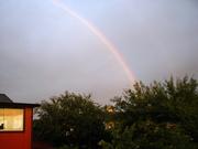 Rainbow over Lilla Harrie