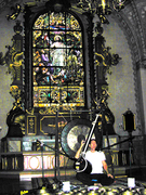 Paul at Norberg Church, Sweden.