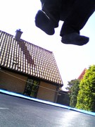 Levitation over the roofs of Mölle