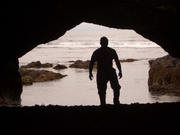 The Om Shaman in a Cave, Nootka Island BC