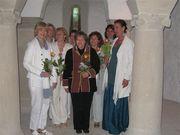 Chorgesang in der Krypta Mai 2009