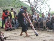 Nepali Didge Performer