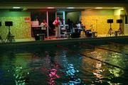 Concert in a swimming pool