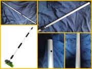 Aluminium telescopic 'selje' type fipple flute (overtone flute/ fujara)