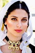 Tradional Sardinian dress