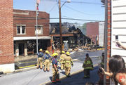 Mt Airy MD Town Fire
