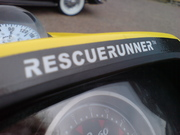 Rescue Runner - up close