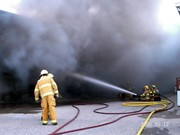 lumber yard fire 1