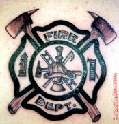 Tatoo-firefighter