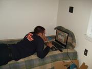Mr.Mule hard at work