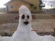 Phelan snow man.