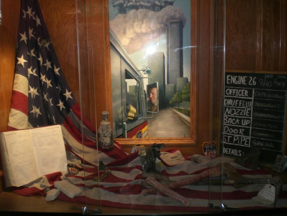 FDNY E 26 9/11 Display