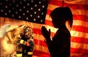 praying for firefighters