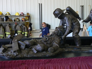 WI Firefighter Memorial Statue