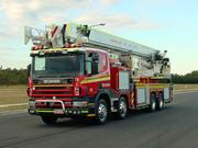 queensland fire rescue ladder platform