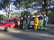 fire rescue and medical crew