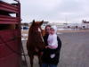 My daughter Briana with my horse Bo
