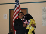 4th Vice President of the South Central District Firefighters Assoc. Danny Cabrera