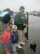 Fishing with the My Dad and the Kids
