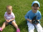 Sean's first Baseball practice