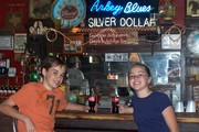 My kids in the bar (Arkey Blues) Kids and dogs welcome!!!