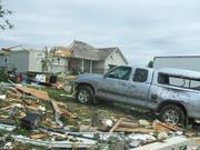 Pics of Chapman and Manhatten KS tornados